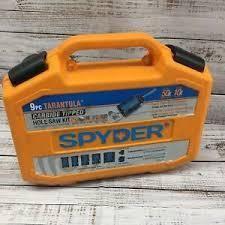 Spyder 9pc  Tarantula Carbide Tipped Hole Saw Kit 600925