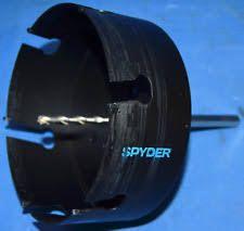 spyder hole saw bit hm tct 102 mm 4 inch