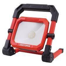 Craftsman 2000 lumen led Portable Work light Compact Workshop