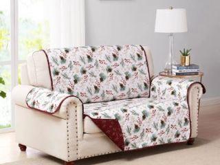 Pinecone Reversible Furniture Protector loveseat
