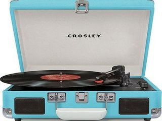 Cruiser Deluxe Bluetooth Turntable  Blue