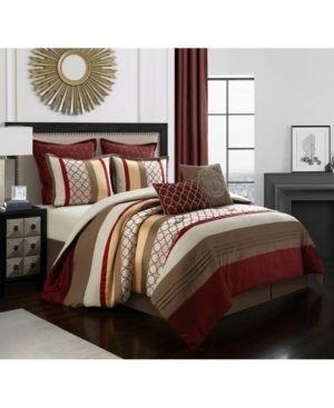 Nanshing Avalon 8 Piece King Comforter Set  Retail 138 47
