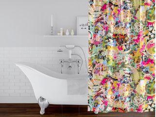 AllEGRA Shower Curtain by Kavka Designs  71X74 Retail 97 49