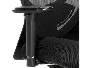 lorell  6 Way Adjustable Arm Kit  1 Each  Black