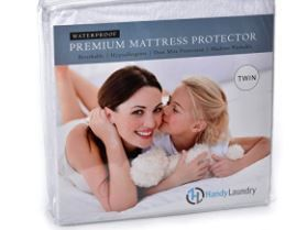 Twin Terry Waterproof Mattress Protector