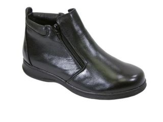 FIC Peerage Juliet Women s leather Extra Wide Width Casual Ankle Boots  Size 12 Retail  99 95