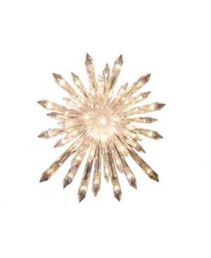 Kurt Adler 30 light Crystal Snowflake Tree Topper