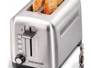 Stainless Steel  Hamilton Beach Professional 2 Slice Toaster