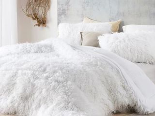 The Bare Himalayan Yeti   Coma Inducer Oversized Queen Comforter   Pure White   Retail 199 99