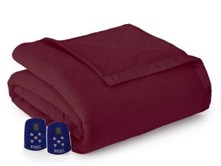 Shavel Micro Flannel 7 layers of Warmth Twin Electric Blanket Bedding