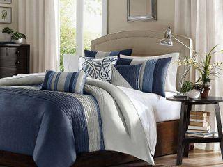 Home Essence Salem 6 Piece Full Queen Duvet Cover Bedding Set