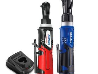 G12 Series 2 Tool Combo Kit 1 4  amp  3 8  Cordless Ratchet Wrench  Retail  134 99