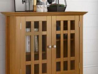 light Oak Finish Accent Cabinet  Retail 179 99