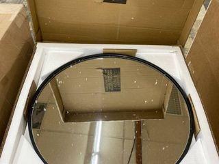 Carson Carrington labbemala Metal Frame Round Mirror Retail 109 99