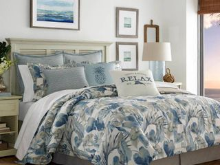 Closeout  Tommy Bahama Home Raw Coast Queen 4 Pc  Comforter Set