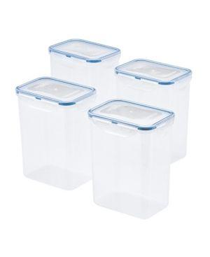 lock n lock Easy Essentials 7 6 Cup Rectangular Food Storage Container  Set of 4