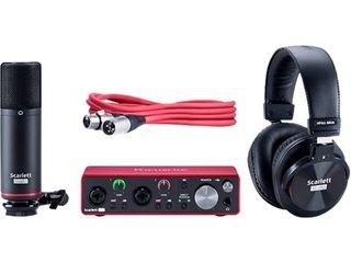 Focusrite   Scarlett USB Audio Interface   Black Red
