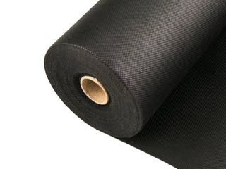 Weed Barrier   landscape Fabric for Outdoor Gardens  Black Commercial Grade Weed Block Cloth  Retail 169 99
