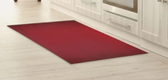 Ombre Red Kitchen Mat by Kavka Designs
