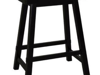 liberty Furniture Bar and Game Room 24 Inch Sawhorse Barstool   Black  RTA  48 B1824 at Hunter s Furniture