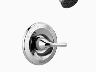 Delta Foundations Chrome 1 handle Bathtub And Shower Faucet lt6 150