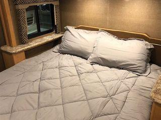 BYB Short Queen Comforter   RV Bedding   Glacier Gray Alloy