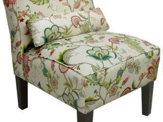 Skyline Furniture Armless Chair in Brissac Jewel