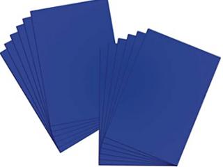 Amazon Basic 22  X 28  Dark Blue Poster Board Set Of 25