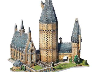 Wrebbit   3D Puzzle   Harry Potter Hogwarts Great Hall   850 Pieces