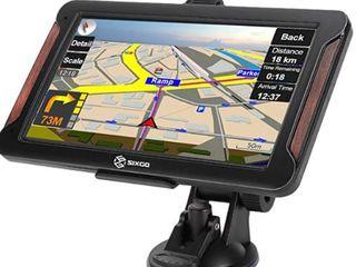 SIXGO GPS Navigation for Car 7 Inch GPS Navigation System Satellite Navigation for Truck 8GB