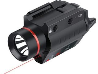 Feyachi lF 38 Red laser Flashlight Combo 200 lumen Weapon light with Picatinny Rail Mount