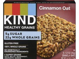 Kind Healthy Grains Cinnamon Oat 5 GRANOLA BARS exp 1/15/2021