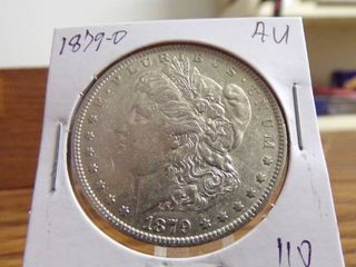 1879 O MORGAN DOllAR AU