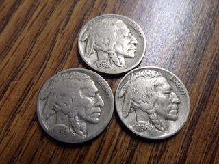 3   BUFFAlO NICKElS 1936 x 3