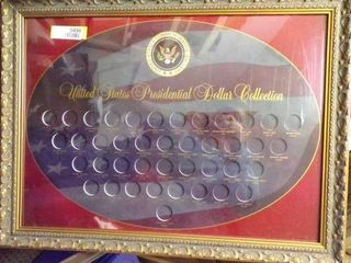 PRESIDENTIAl DOllAR DISPlAY  NO SHIPPING ON THIS ITEM