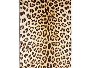 Mohawk Home Prismatic Cheetah Spots Area Rug   5  x 8  Retail 140 33