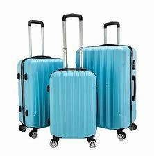 3 Piece luggage Sets PC ABS Spinner Suitcase 20  24  28  Retail 97 49