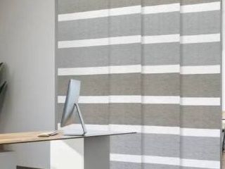 GoDear Design Natural Woven Adjustable Sliding Panel  45 8  86  W x 96  l  Retail 145 99