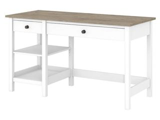 Bush Furniture Mayfield 54W Computer Desk with Shelves