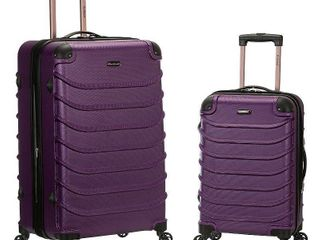 Rockland luggage Speciale 2 Piece Hardside Spinner luggage Set F230