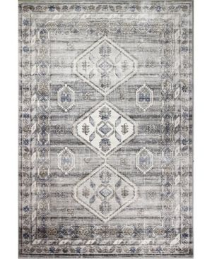 Bb Rugs Mesa Mes 02 Silver 3 6  x 5 6  Area Rug