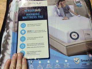 SensorPEDIC Warming Mattress Pad With Digital Controller Twin