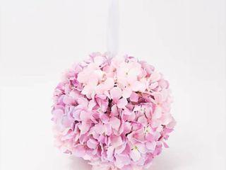 Wicker Park 11  Faux Floral Indoor Outdoor Hydrangea Sphere