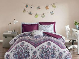 Full size Home Essence Apartment Allura Bed in a Bag Comforter Bedding Set