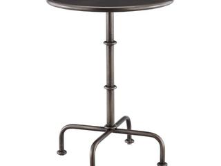 MARTHA STEWART lassen Accent Table   Retail  166 99