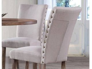 Best Master Furniture Carey Dining Side Chairs  Set of 2