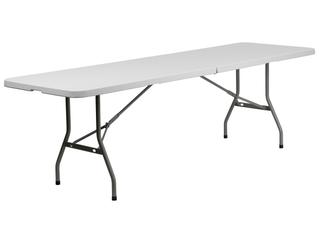 FlashFurniture RB 3096FH GG 30 by 96 Inch Plastic Bi Folding Folding Table