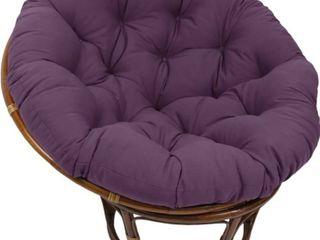 Blazing Needles 44 inch Solid Papasan Cushion   Grape