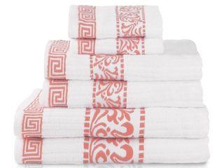 Impressions Isaura Cotton 6 Piece Towel Set