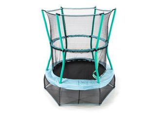 Skywalker Trampolines 48  Round Mini Bouncer With Enclosure Blue